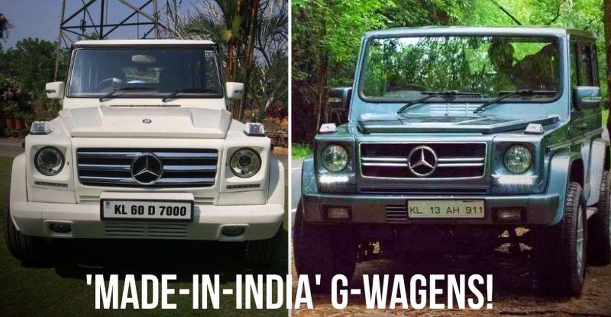 Mahindra Bolero & Force Gurkha SUVs modified to Mercedes Benz G-Wagens: 5 examples from across India