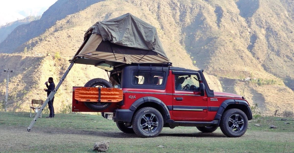 Rooftop camping on the new Mahindra Thar: Here's how it's done [Video]