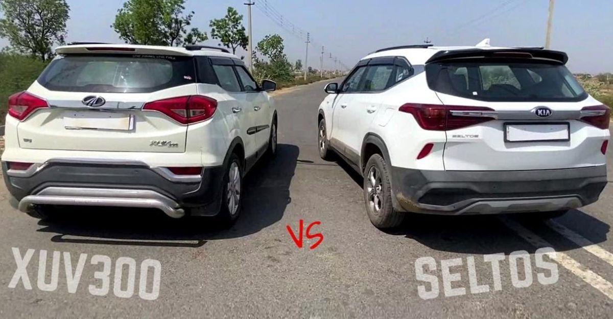 Can a less powerful Kia Seltos Diesel BEAT the Mahindra XUV300 Diesel