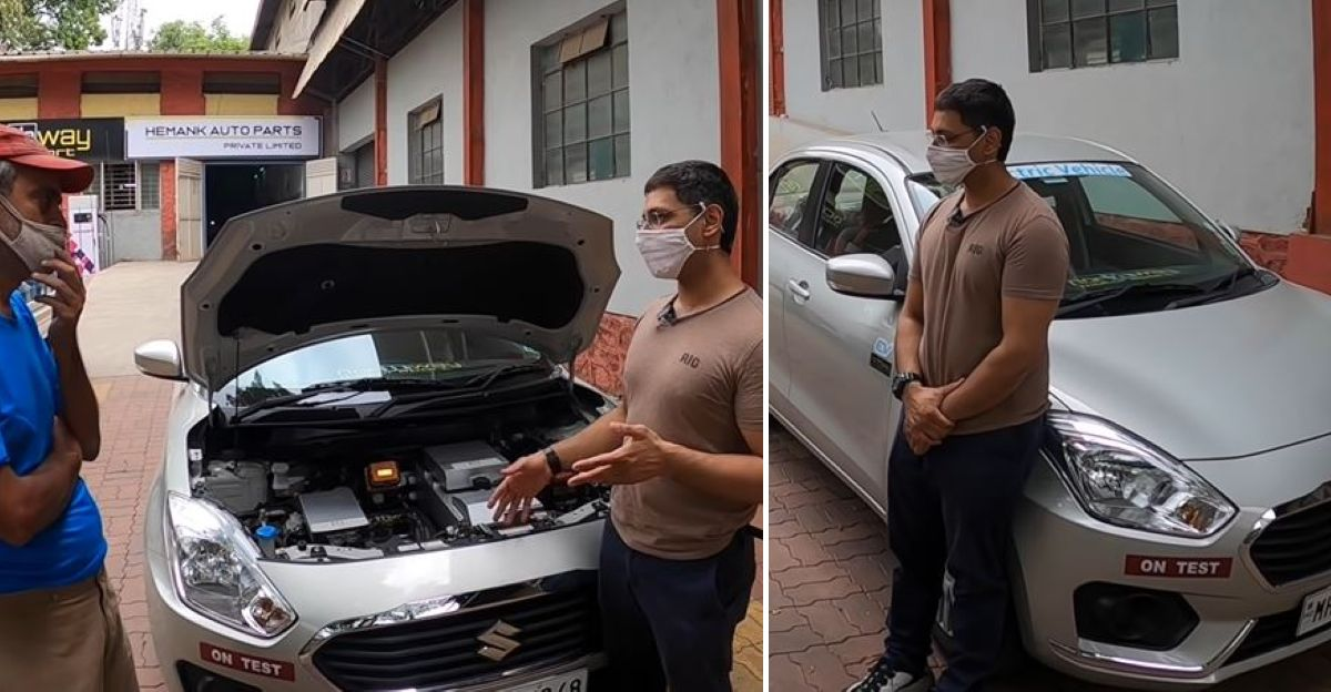 Maruti Dzire electric car conversion kit: All you need to know including range & top speed [Video]