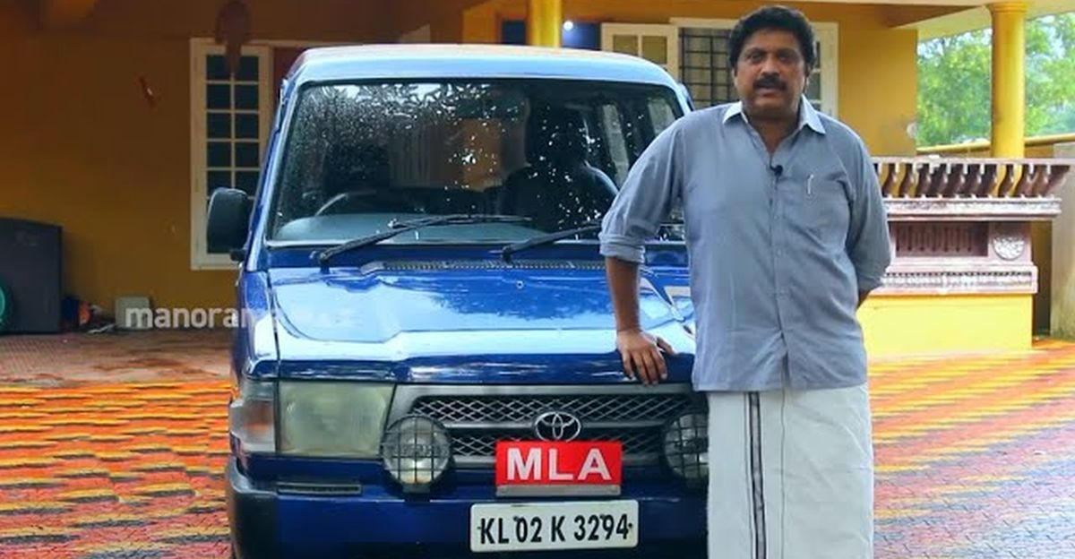 MLA explains why he still owns his 20 year-old Toyota Qualis MUV
