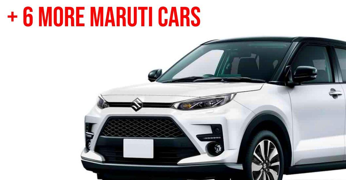 7 new Maruti Suzuki cars launching soon