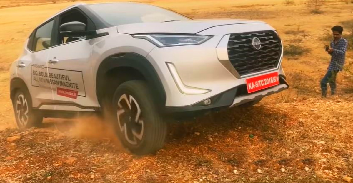 Nissan Magnite goes off roading: Can it cope?
