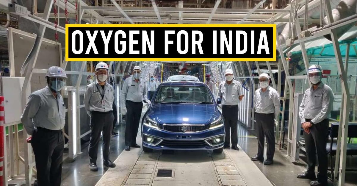 Maruti and Suzuki shut plants in India to provide oxygen