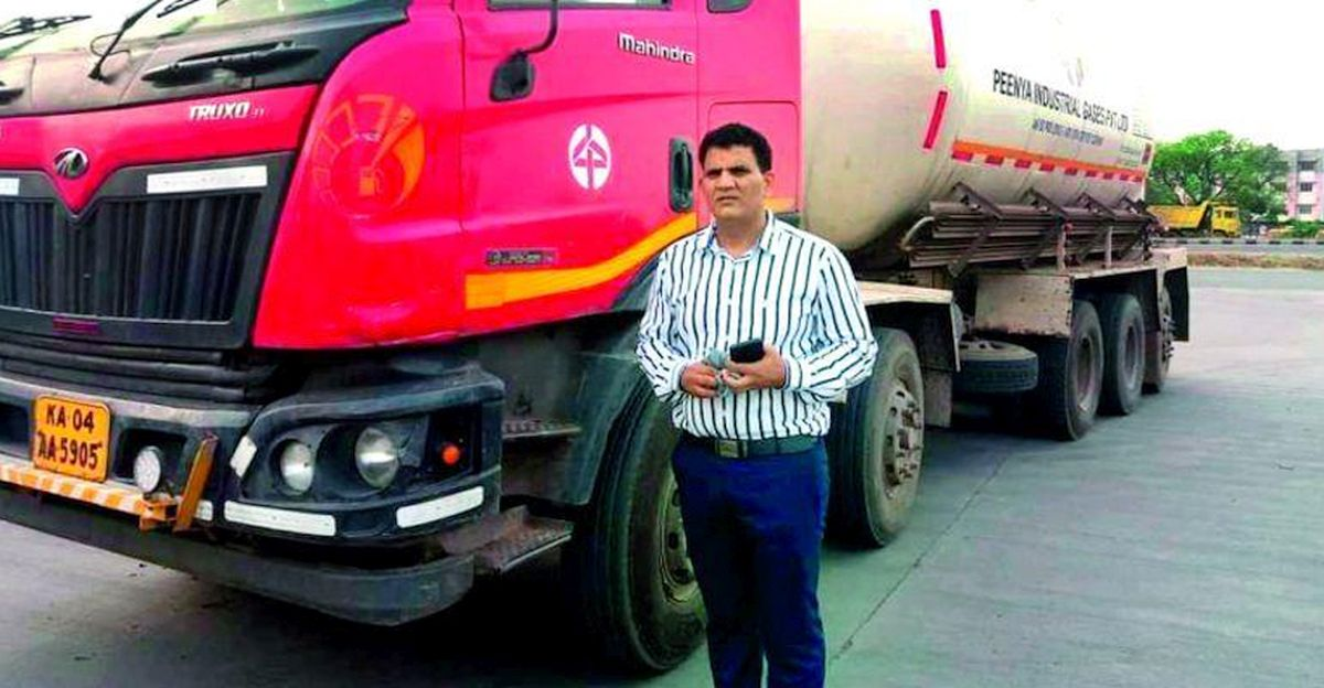 Transporter spends Rs. 85 lakh to supply 400 tons of oxygen to help COVID affected