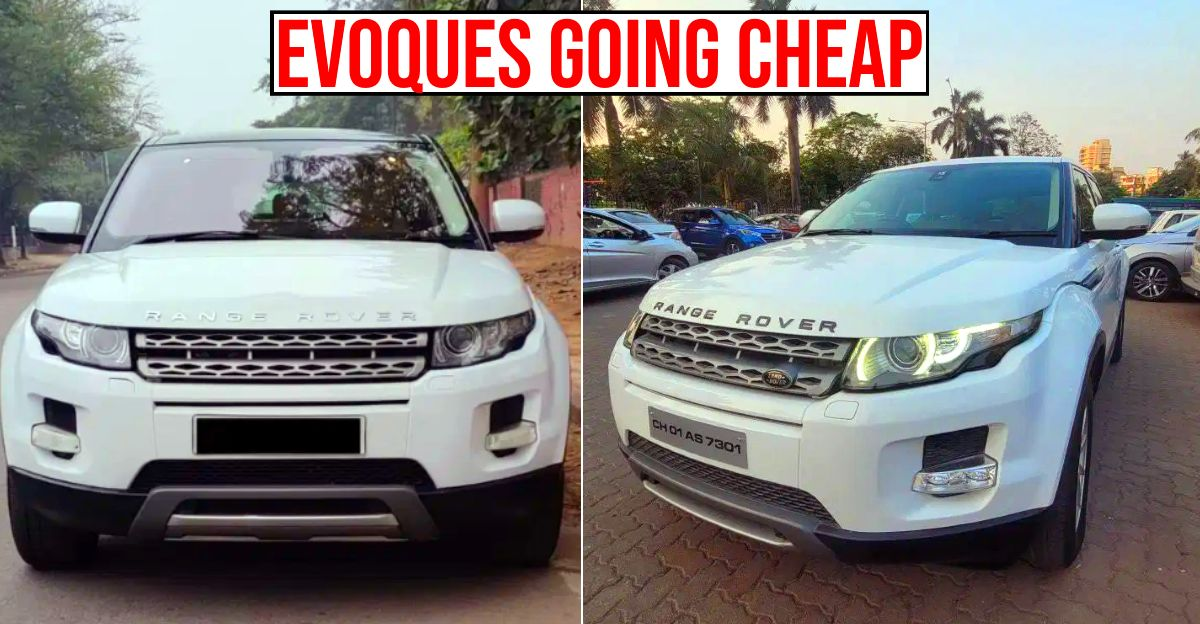 4 Range Rover Evoque luxury SUVs for sale: Prices start from 15 lakh