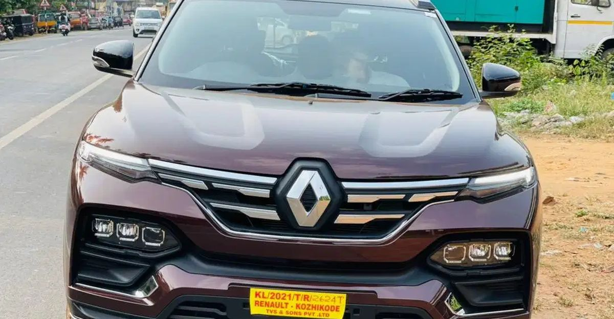 Renault Kiger compact SUV hits the used car circuit: First example