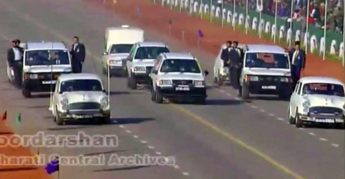 Watch Tata Sierra, Estate & Sumo in India's 1995 Republic Day Parade