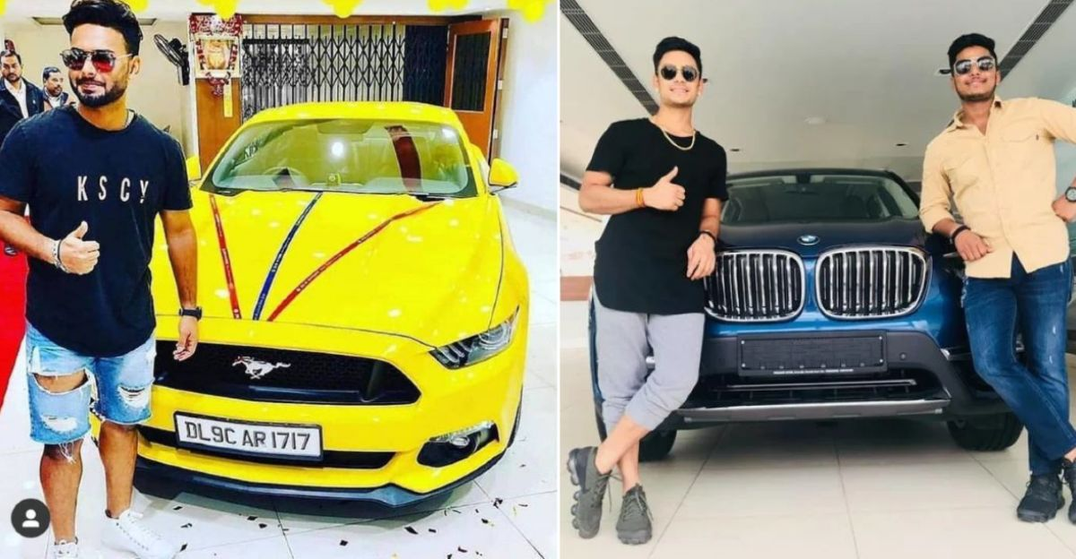 Young Indian cricketers & their latest cars: Rishabh Pant's Ford Mustang to Mohd. Siraj's BMW