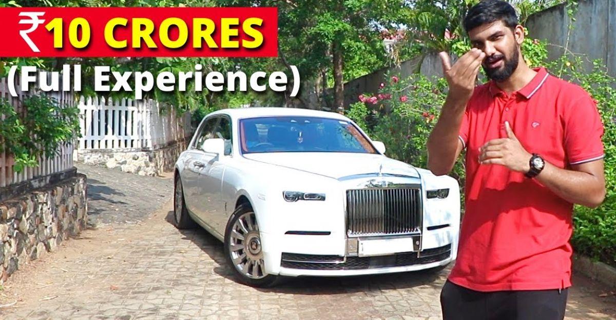 What a 10 crore rupee Rolls Royce Phantom super luxury car feels like