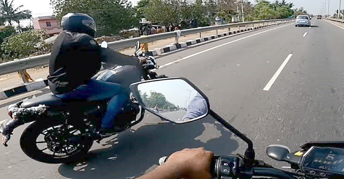 Royal Enfield Hunter spotted testing once again