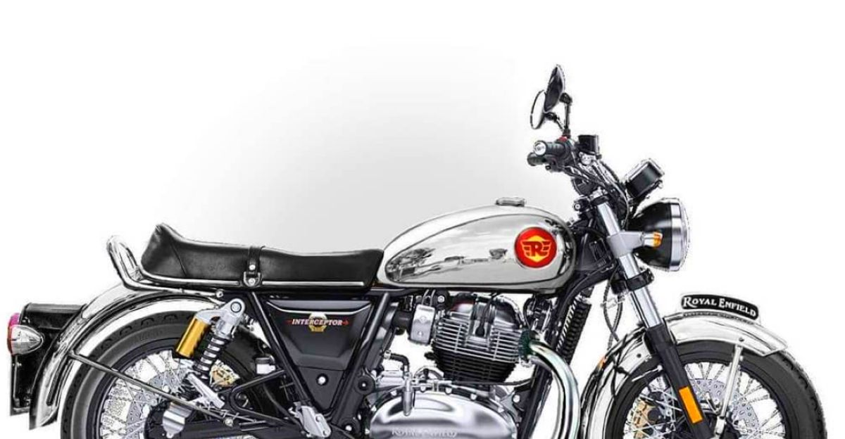 How to make the Royal Enfield Interceptor 650 look more retro? Like this!