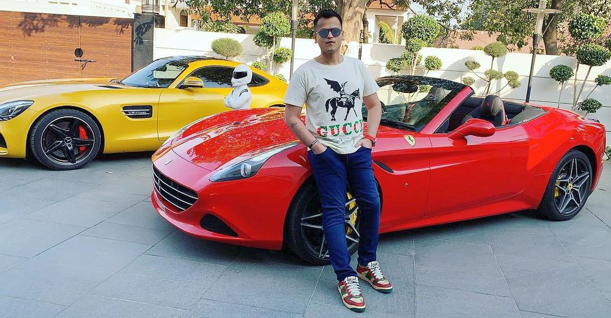 26 year-old singer Shrey Singhal & his super exotic car collection: Rolls Royce to Range Rover