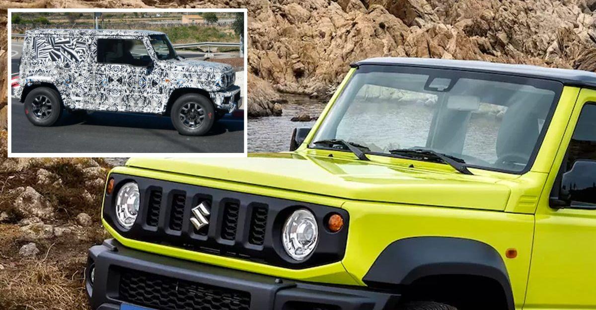 India-Bound Maruti Suzuki Jimny's tech specs leaked