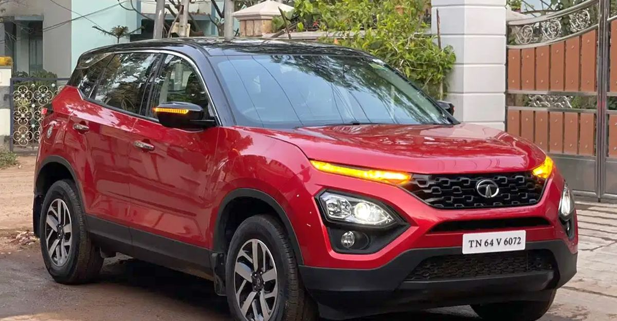 Almost-new Tata Harrier SUVs for sale