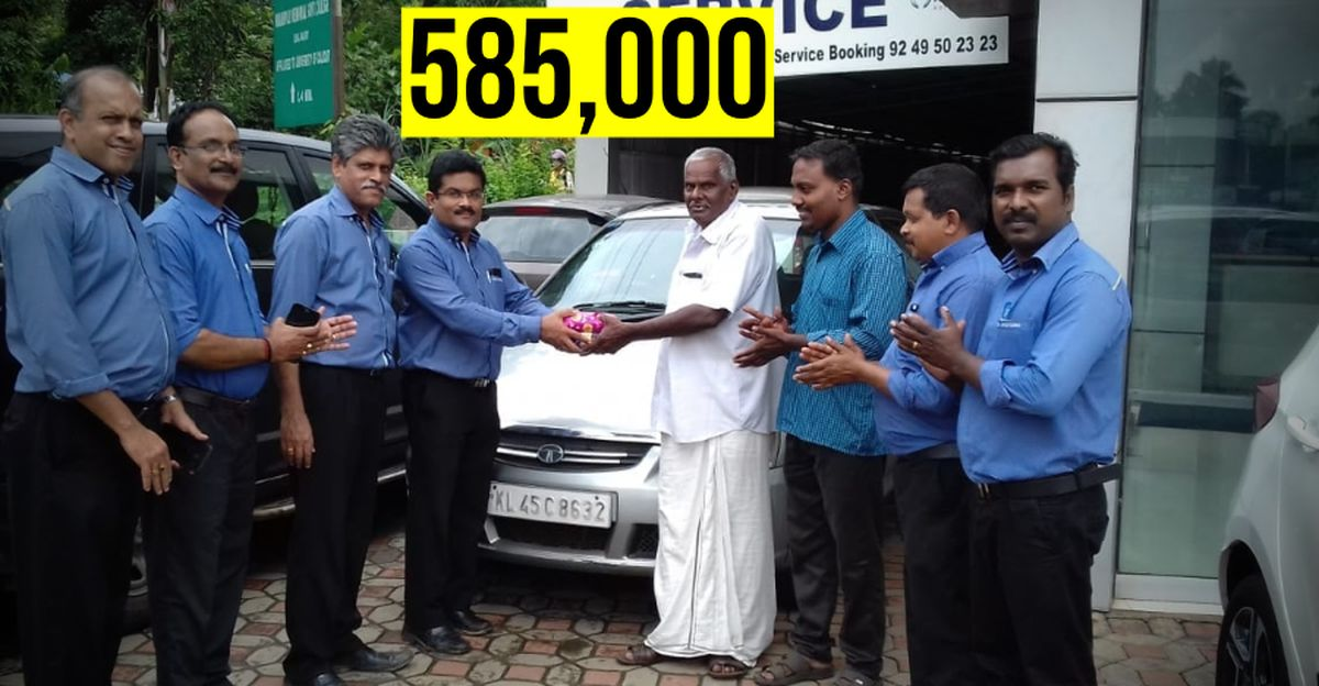 Tata Indica diesel clocks 5.85 lakh kms on odometer without any engine work