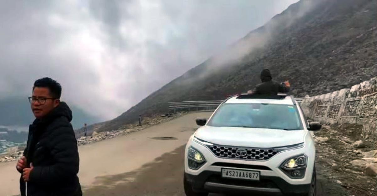 First all-new Tata Safari to reach Bomdi La pass in Arunachal Pradesh