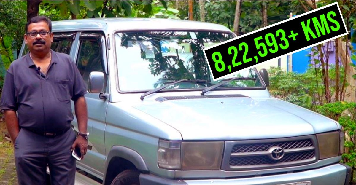 Meet the Toyota Qualis that's been driven 8 lakh kms