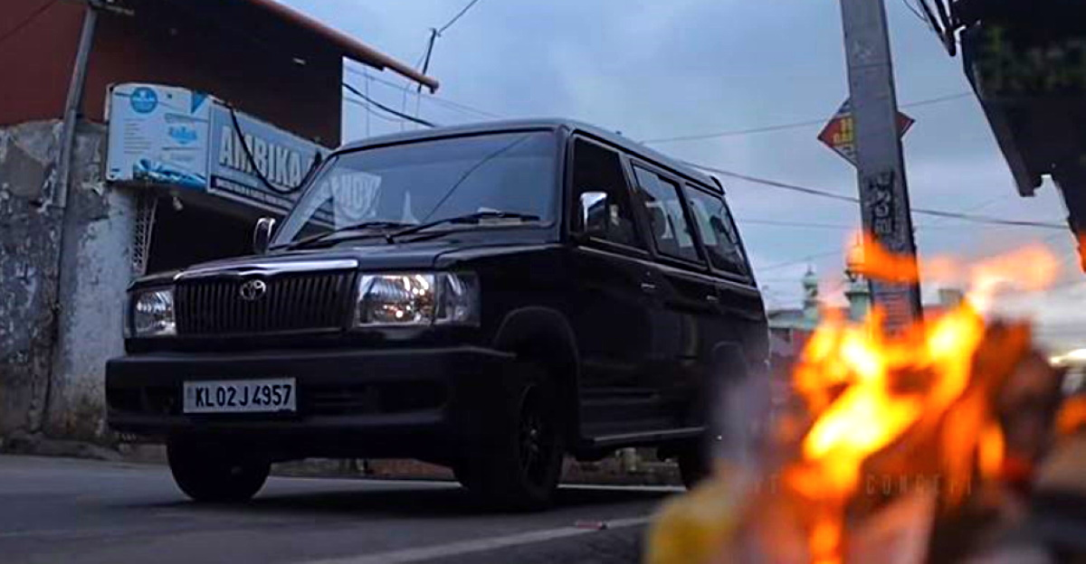 Old Toyota Qualis MPV beautifully restored on video