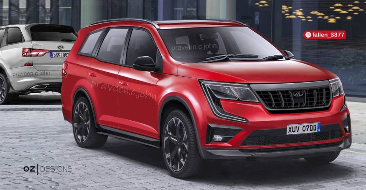 Mahindra XUV700 SUV: What it'll look like