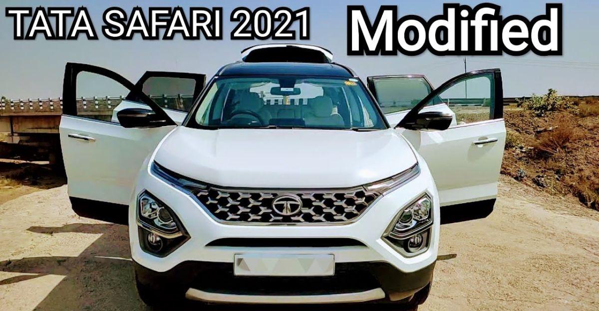 New Tata Safari gets a subtle wrap job for classier looks