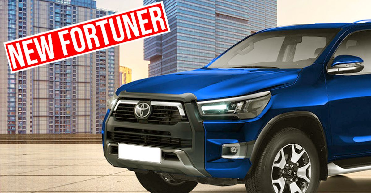 Next-Gen Toyota Fortuner: What it'll look like