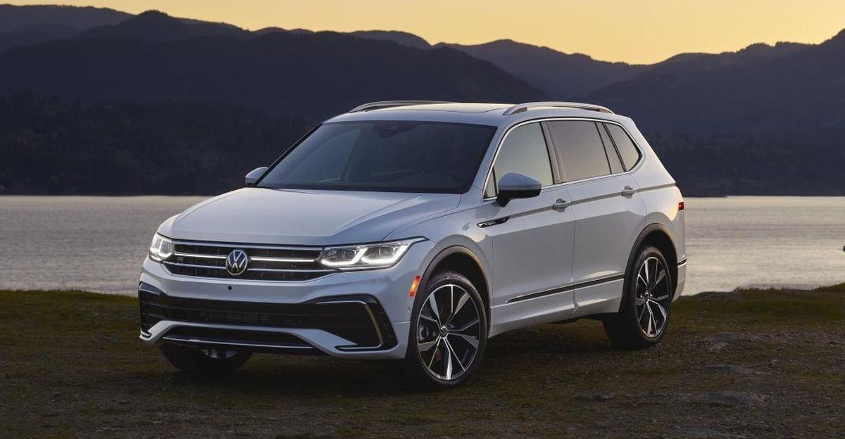 Volkswagen unveils 2022 Tiguan AllSpace SUV