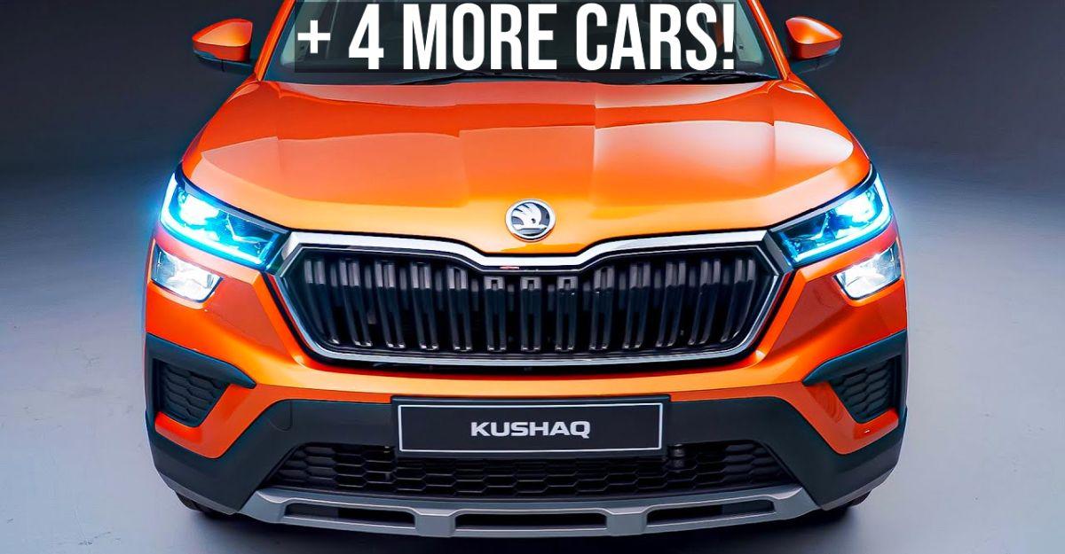 5 cars launching soon in India: Hyundai Alcazar to Skoda Kushaq