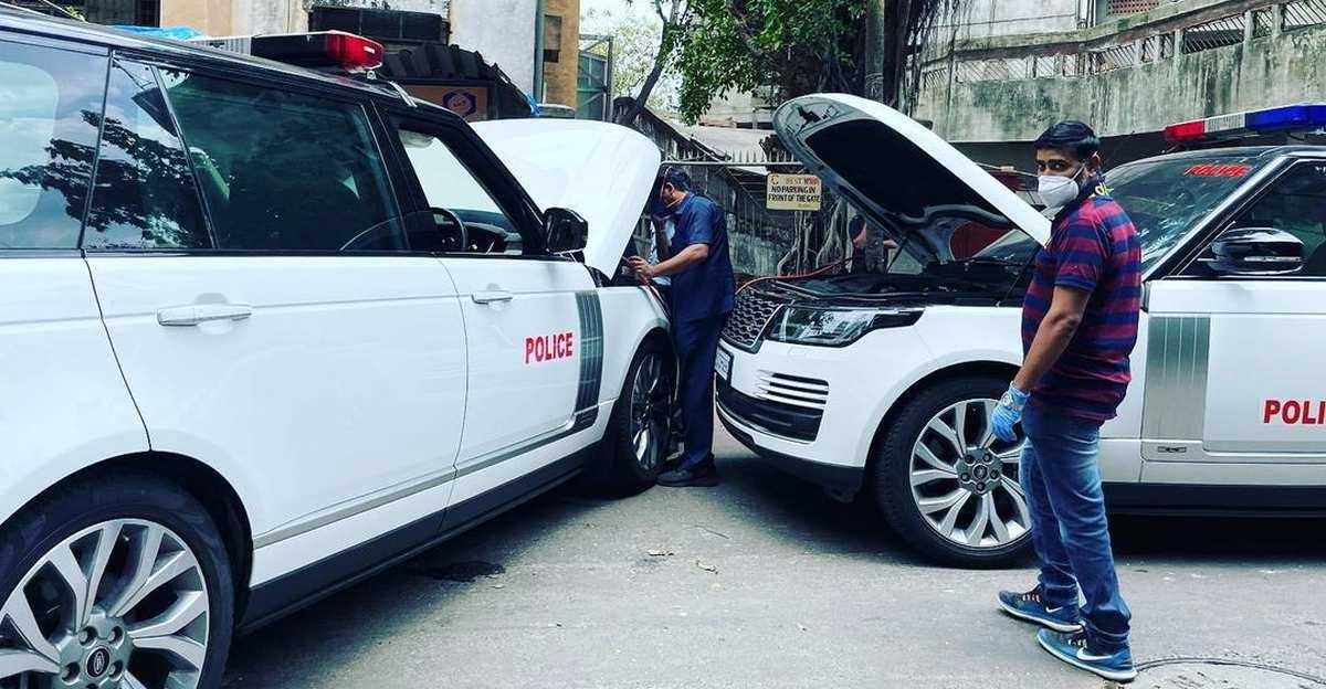 Even Ambani convoy Range Rovers need a jump start: Lockdown effect?