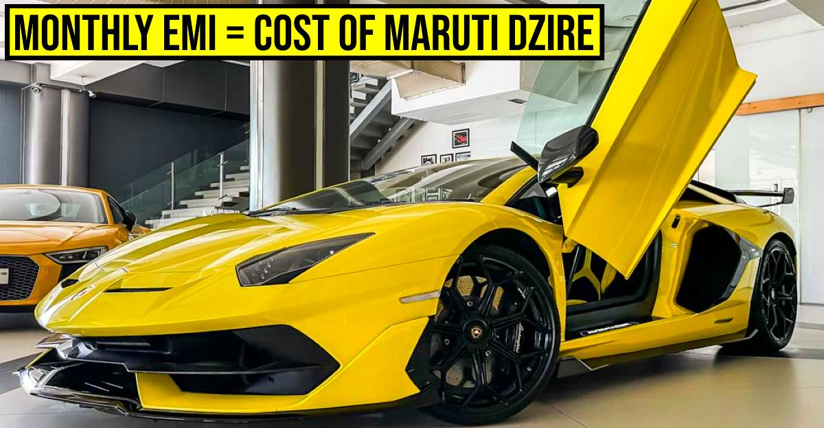 This Lamborghini Aventador SVJ is India's most EXPENSIVE used car: EMI starts at Rs 9.78 lakh/month