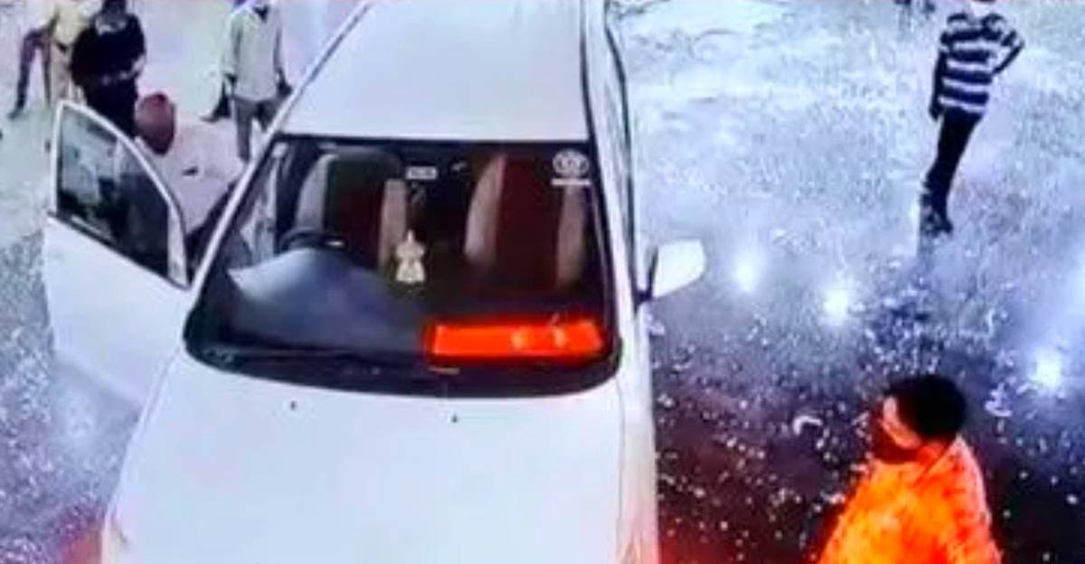 BJP leader rams Toyota Innova into hospital after his father dies of COVID