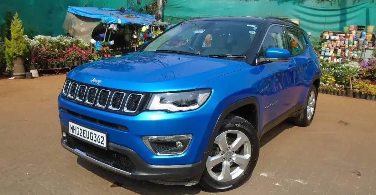 Sparingly used Jeep Compass Automatic SUVs selling cheaper than a Hyundai Creta