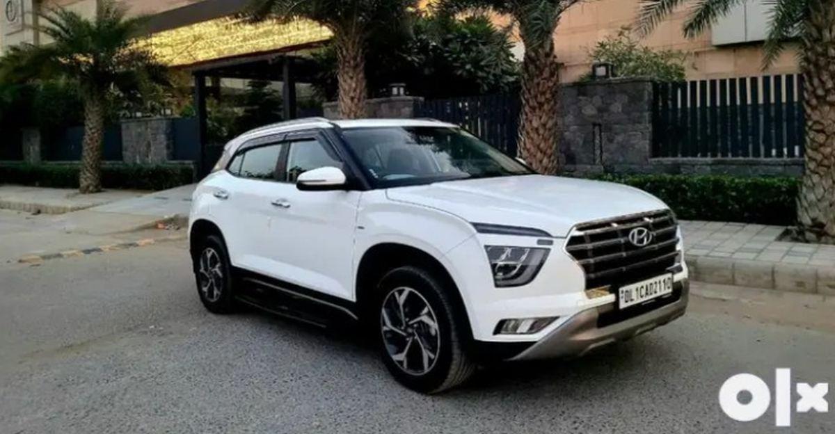 Almost-new, used 2020 Hyundai Creta SUVs for sale