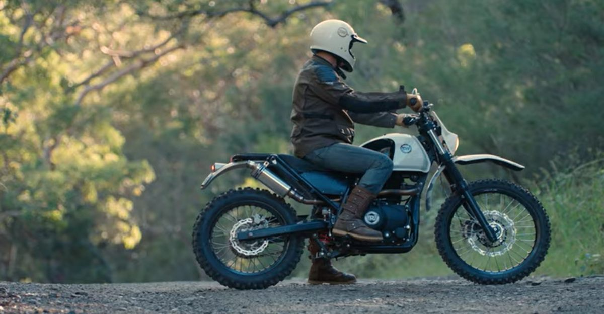 Custom Royal Enfield Himalayan from Schlachtwerk looks gorgeous