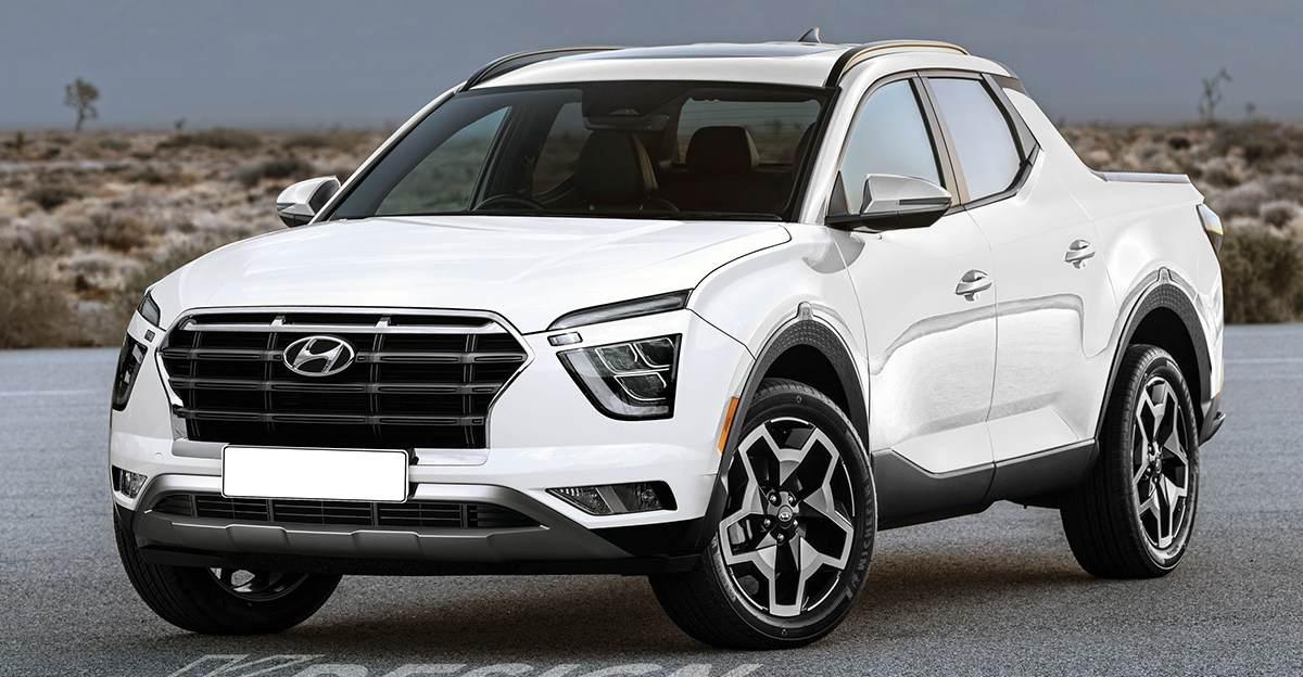 New Hyundai Creta imagined as a pick-up truck