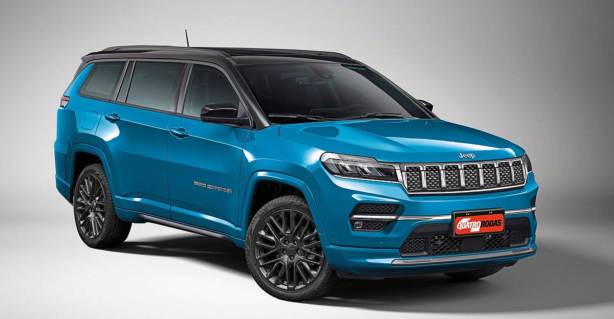 Jeep's 7 seater Fortuner rival: What it'll look like