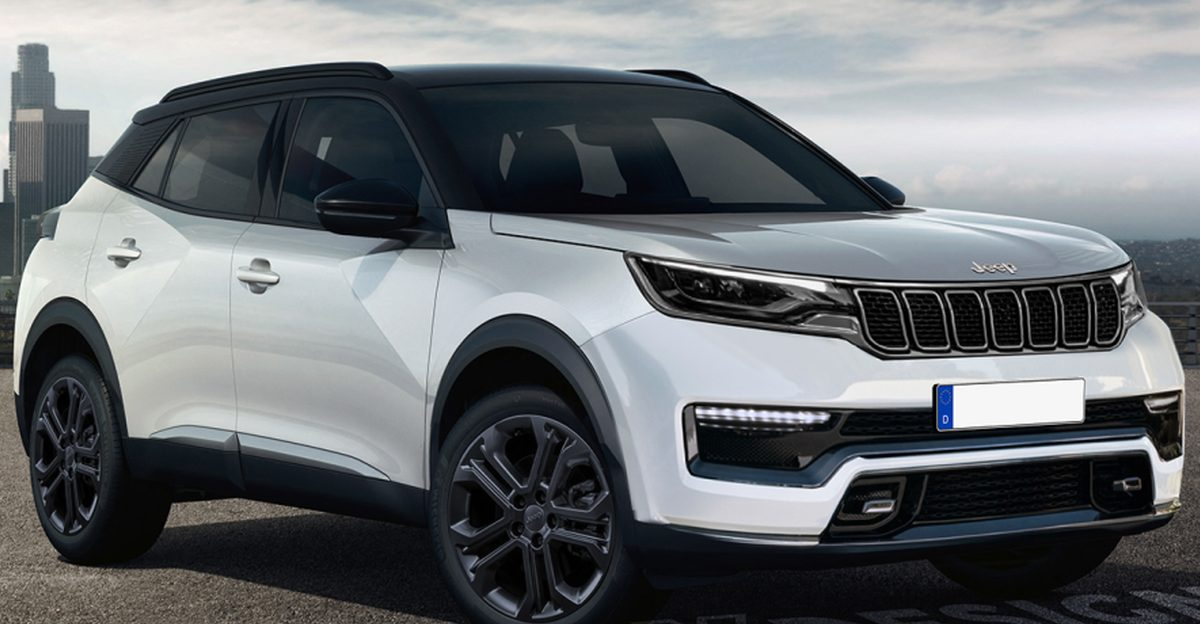 Jeep Junior compact-SUV rendered ahead of launch: Will rival Kia Sonet