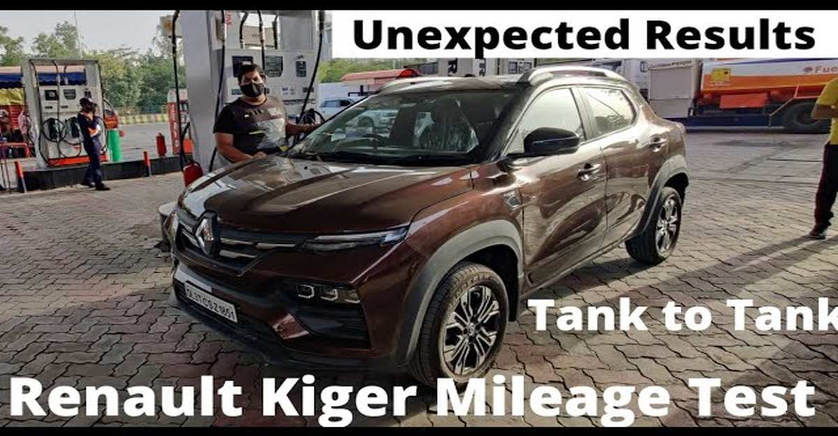 Renault Kiger compact SUV 1.0 AMT: How fuel efficient is it