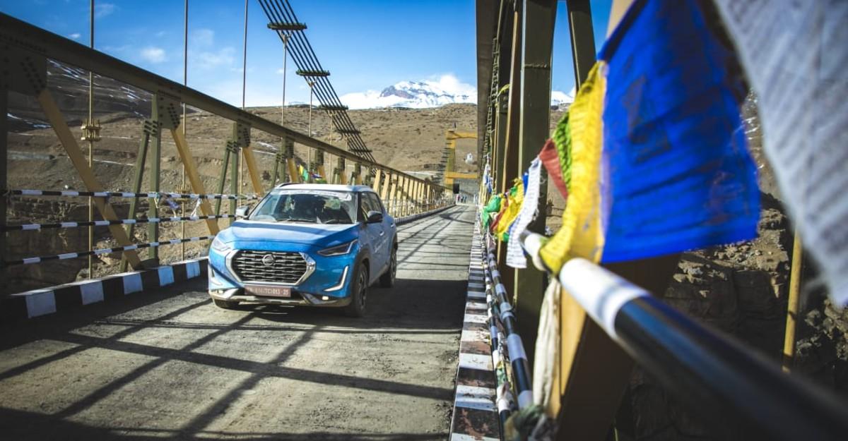 Nissan Magnite CVT review: On a journey to Asia's highest suspension bridge