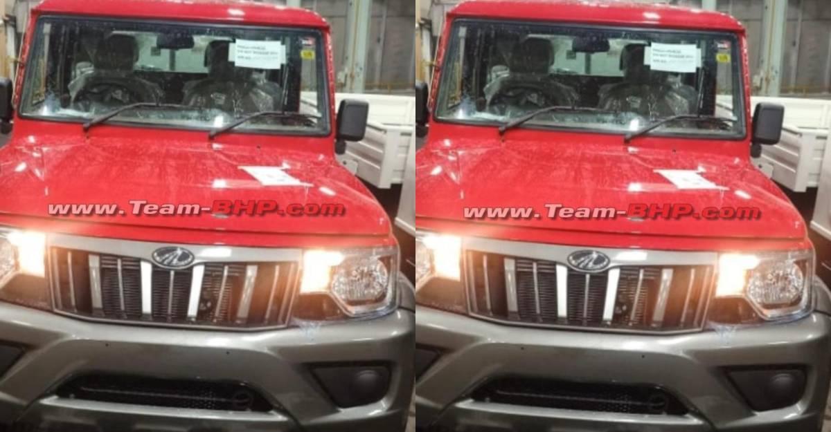 2021 Mahindra Bolero to get bright red dual-colour option