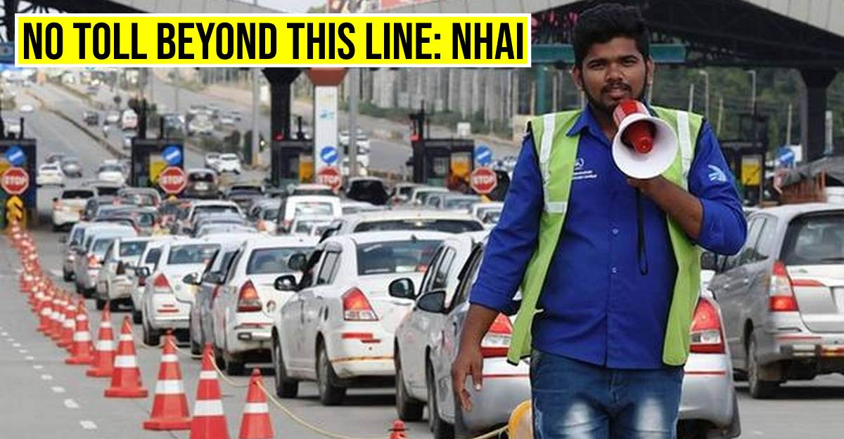 No FASTAG toll if queue crosses the yellow line: NHAI's official announcement