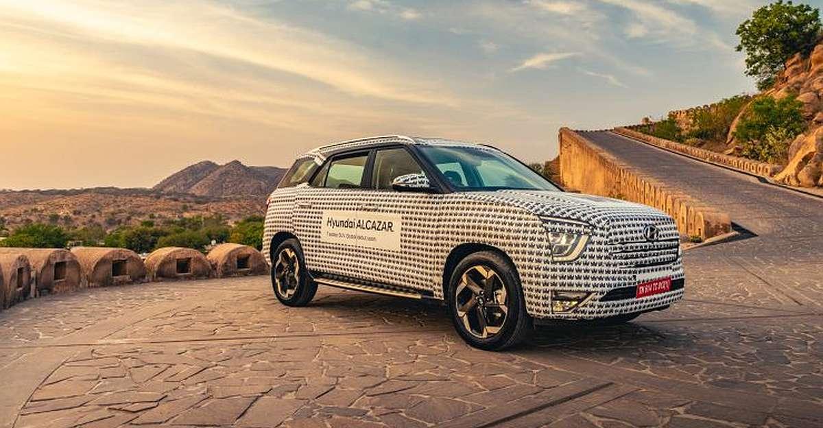 Upcoming Hyundai Alcazar SUV: New details & teaser out