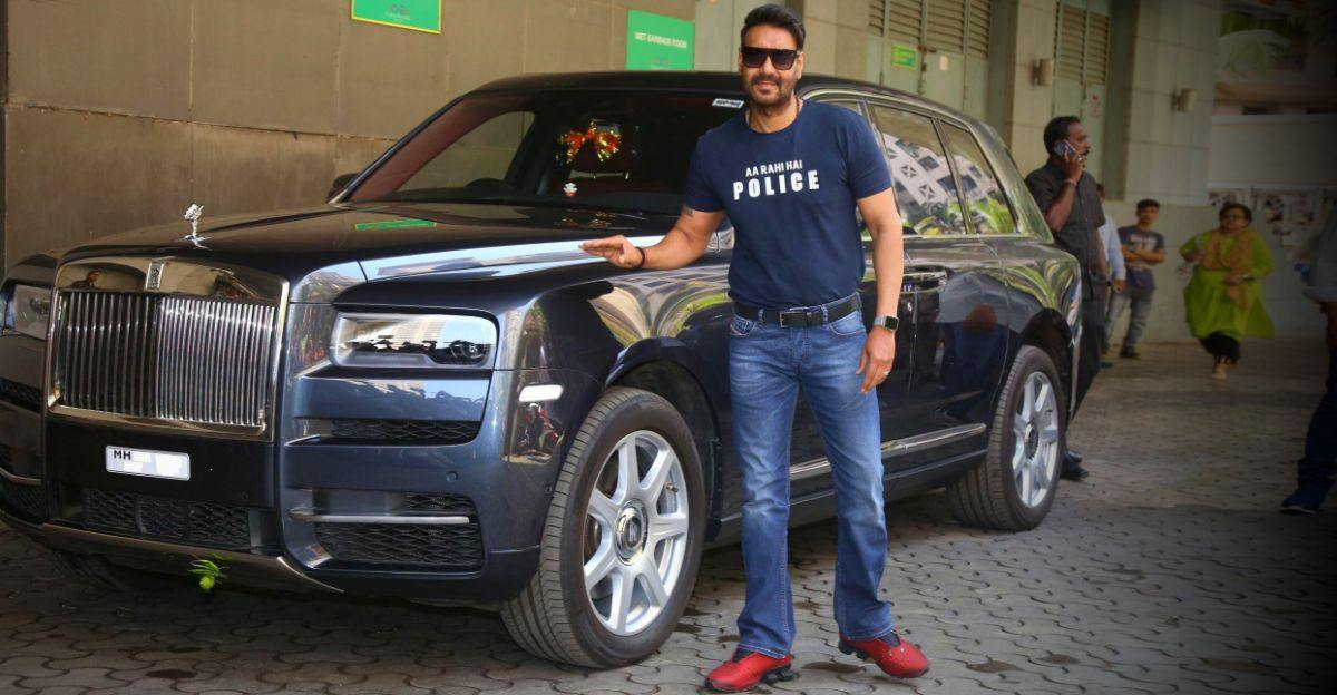 5 famous Rolls Royce Cullinan owners: Ajay Devgn to Anant Ambani