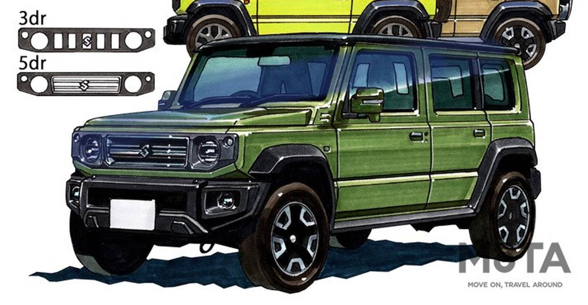 5 door Maruti Suzuki Jimny: New details surface