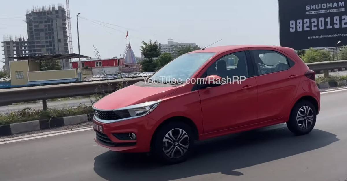 Tata Tiago CNG spied before official launch; To take on Maruti Suzuki WagonR