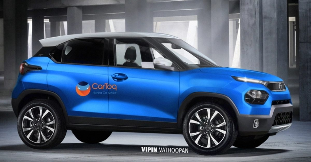 Tata Hornbill HBX micro SUV's production version spotted ahead of launch