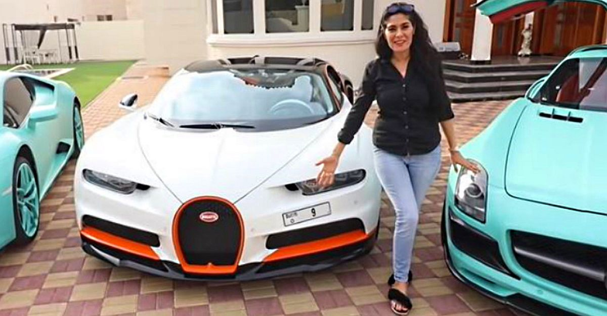 Rs. 52 Crore numberplate on Rs. 25 Crore Bugatti Chiron