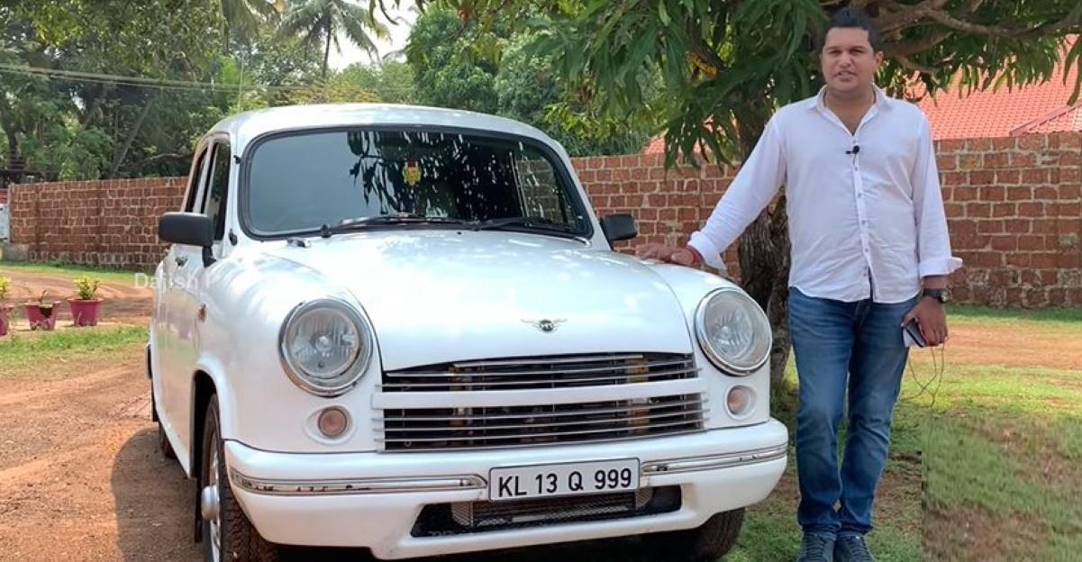 Rare Hindustan Ambassador Avigo sedan in a detailed walkaround video