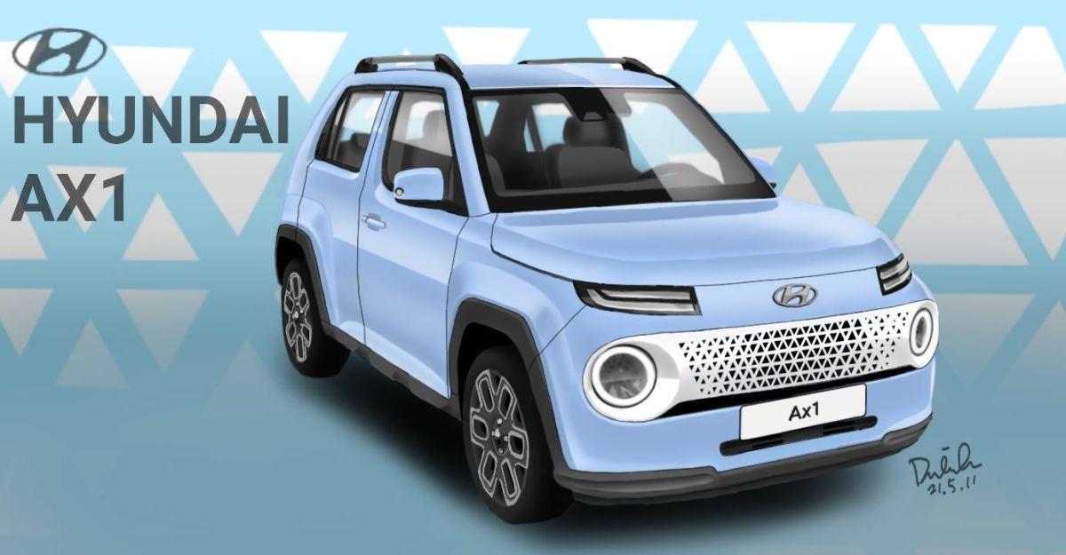 Hyundai AX1 micro SUV: What the Maruti S-Presso rival will look like