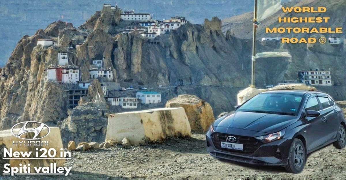 New Hyundai i20 premium hatchback reaches the Spiti Valley